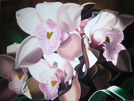 Quadri famosi, riproduzioni d\'arte - Orchidee | Quadro di fiori ...