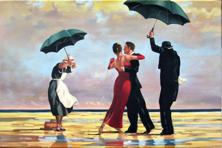 pittore scozzese jack vettriano the singing butler. Black Bedroom Furniture Sets. Home Design Ideas